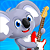 Koala Band - Play with your friends, learn about music, get free songs, a guitar, piano, and drum!